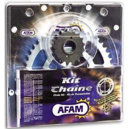 KIT CHAINE RENFORCE 660 RAPTOR AFAM CHAINE 520 ACIER TYPE XMR2