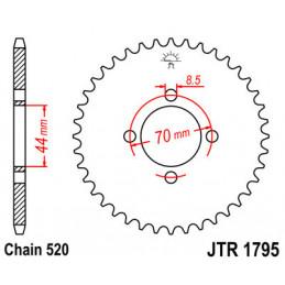 Couronne JT 22 dents acier, pas 520 type 1795 SUZUKI LT 80