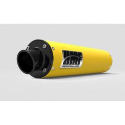 Silencieux HMF Performance Series jaune casquette Turn Down noire Can Am 07 12