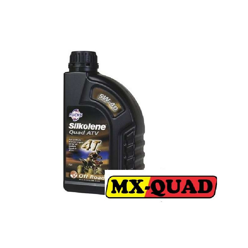 HUILE SILKOLENE 5W40 SPECIAL QUAD 4T 100% SYNTHESE
