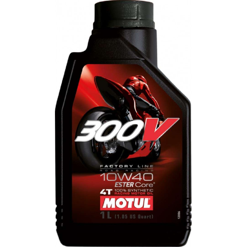 HUILE MOTEUR MOTUL 300V FACTORY LINE OFF ROAD 10W40 4T 100% SYNTHETIC 1 L