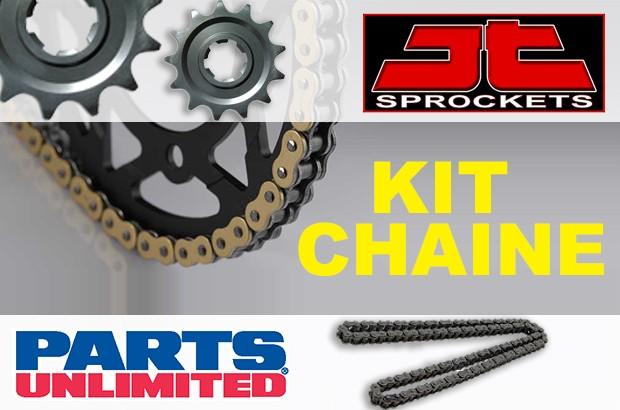 kit chaine JT sprockets et Parts